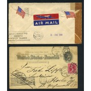 Colección Collection Historia Postal Postal History EEUU US United States