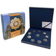 España Spain 2018 Cart Of Euros € Estuche  Proof + 2 +2 Felipe VI Compostela