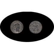 Moneda romana Follis Constantino II César en Occidente: 317-337 d.C.