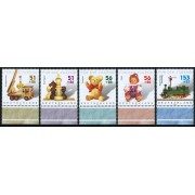 AJZ2  Alemania  Germany  Nº 2088/92 2260/4 902/6   2002   MNH