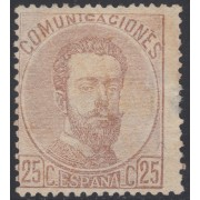 España Spain 124 1872 Amadeo I