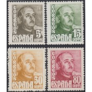 España Spain 1020/23 1948/1954 General Franco MNH