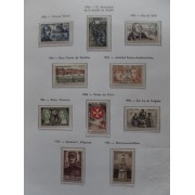 Colección Collection Francia 1945 -1967 MNH