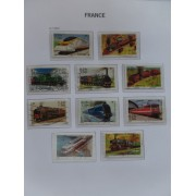 Colección Collection Francia France 1994 - 2001 Usados
