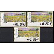 ATMs - Térmicos 2005 - E0200 - Pintura Las flores silvestres