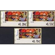 ATMs - Térmicos 2005 - E0196 - Pintura Meléndez Guitarra con frutas