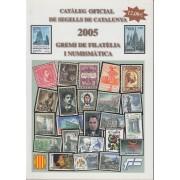 <div><strong>Catàleg Oficial de Segells de Catalunya 2005</strong></div>