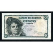 Billete 5 Ptas 5-3-1948 J. Sebastián El Cano