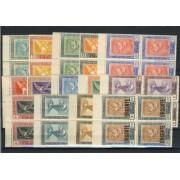 España Spain 517/30 1930 Goya Correo Áereo Bloque de 4 Lujo MNH 180€