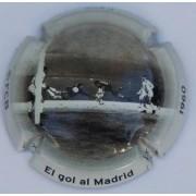 Colección 6 chapas placas de Cava Oficiales Goles Importantes FC Barcelona FCB