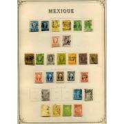 COLECCIÓN COLLECTION MEXICO MEJICO 1856 - 1929 YVERT 21.415€ SELLOS