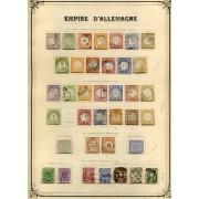 Colección  Collection Alemania Imperio Germany Empire Deutsch Reich 1871/1932