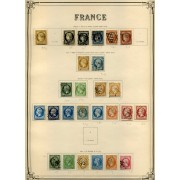 COLECCIÓN COLLECTION FRANCIA FRANCE 1849 - 1931 YVERT 23.734 €