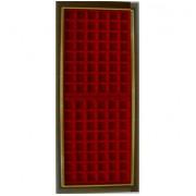 Filober Vitrina expositora placas chapas de cava para 96 placas 22x56