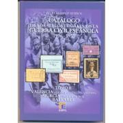 Catálogo sellos locales y viñetas de la Guerra Civil Española 1936 - 1939 TOMO II