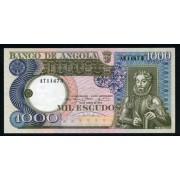 Billete Angola P.108 1000 Escudos 1973 Sin circular Plancha