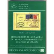 RECONSTRUCCIÓN PLANCHAS TARJETAS ENTERO POSTALES ALFONSO XII FILIPINAS CUBA ...