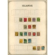 COLECCIÓN COLLECTION ISLANDIA ICELAND ÍSLAND 1876 - 1930 YVERT 4870 €