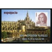 España Spain Hojitas Recuerdo 126 1995 FNMT Expo Ocio Feria y Exposición Filatélica 1995