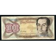Billete P.66f VENEZUELA 100 bolívares 1998 Circulado Defectos