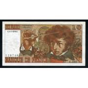 Billete P.150c Francia 1976 10 Francos Circulado Pliegue