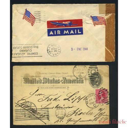 Colección Collection Historia Postal Postal History EEUU US United States