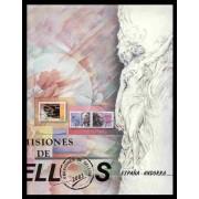Libro Album Oficial de Sellos España y Andorra 2003