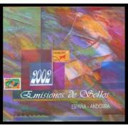 Libro Album Oficial de Sellos España y Andorra 2002