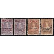 España Spain 394/399 ( 392/01 ) 1927 Alfonso XIII MNH