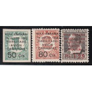 España Spain Canarias 4A/7 Aéreo 1937 Cifras Blasco Ibañez Numbers MNH