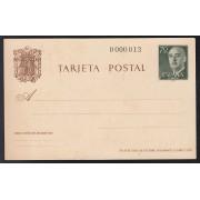 España Spain Entero Postal ( tarjeta ) 90 1962 Franco nº 0000013