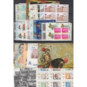 España Spain Año Completo Year Complete 2000 BL.4 + 4 HB + 4 MP MNH