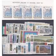 Tema Europa - 1977 - Completo Tema Europa 56 Sellos + 2 HB