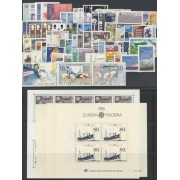 Tema Europa - 1988 - Completo Tema Europa 81 Sellos + 4 HB