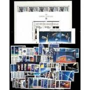 Tema Europa - 1991 - Completo Tema Europa 87 Sellos + 5 HB