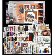 Tema Europa - 1996 - Completo Tema Europa 94 Sellos + 5 HB