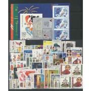 Tema Europa - 1998 - Completo Tema Europa 100 Sellos + 5 HB