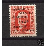 España Spain 741 1936 Vuelo Manila - Madrid MNH
