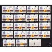 <div><strong>ATMs Kl&uuml;ssendorf Madrid 92 3 dígitos 19 valores con número</strong></div>