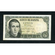 Billete 5 Ptas 16-8-1951 J. Balmes