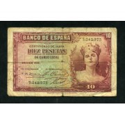 Billete 10 Ptas 1935