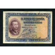 Billete 25 Ptas 12-10-1926 St.Fco Javier