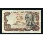 Billete 100 Ptas 17/11/1970
