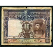 Billete 1000 Ptas 1-7-1925 Carlos I