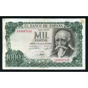 Billete 1000 Ptas 17/09/1971