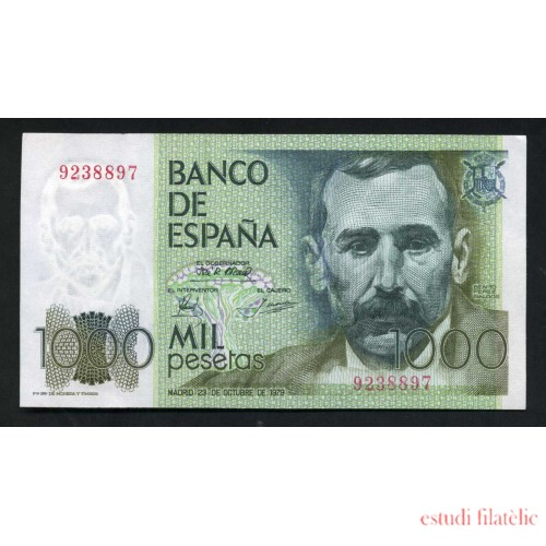 Billete 1000 Ptas 23/10/1979 Sin Serie
