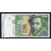 Billete 1000 Ptas 12/10/1992
