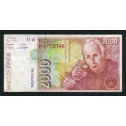 Billete 2000 Ptas  24/04/1992