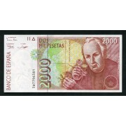 Billete 2000 Ptas 24-4-1992  Mutis