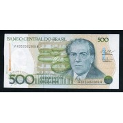 Brasil 500 Cruzeiros 1996 Billete Banknote Sin Circular